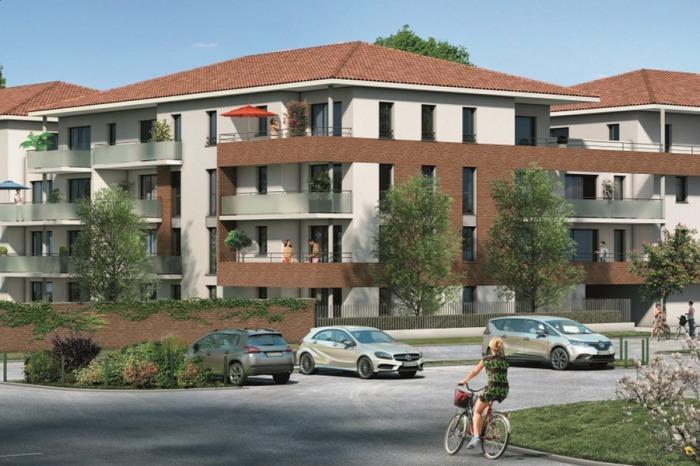 Appartements neufs Cugnaux référence 5369 : aperçu n°0