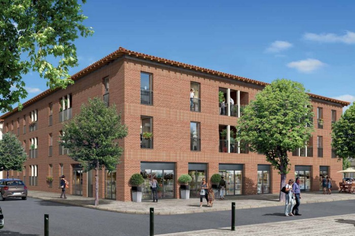Appartements neufs Saint-Jory référence 4981 : aperçu n°0