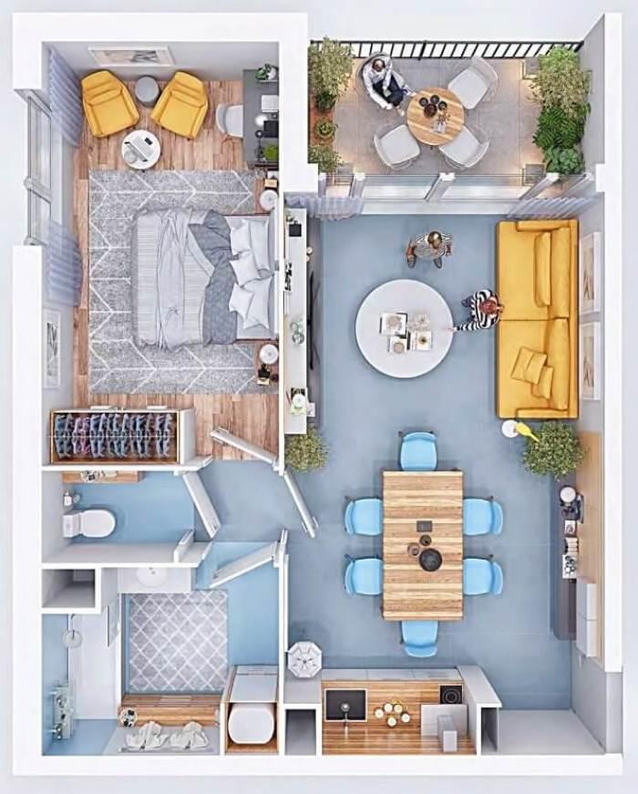Appartements neufs Saint-Simon référence 4054 : aperçu n°3