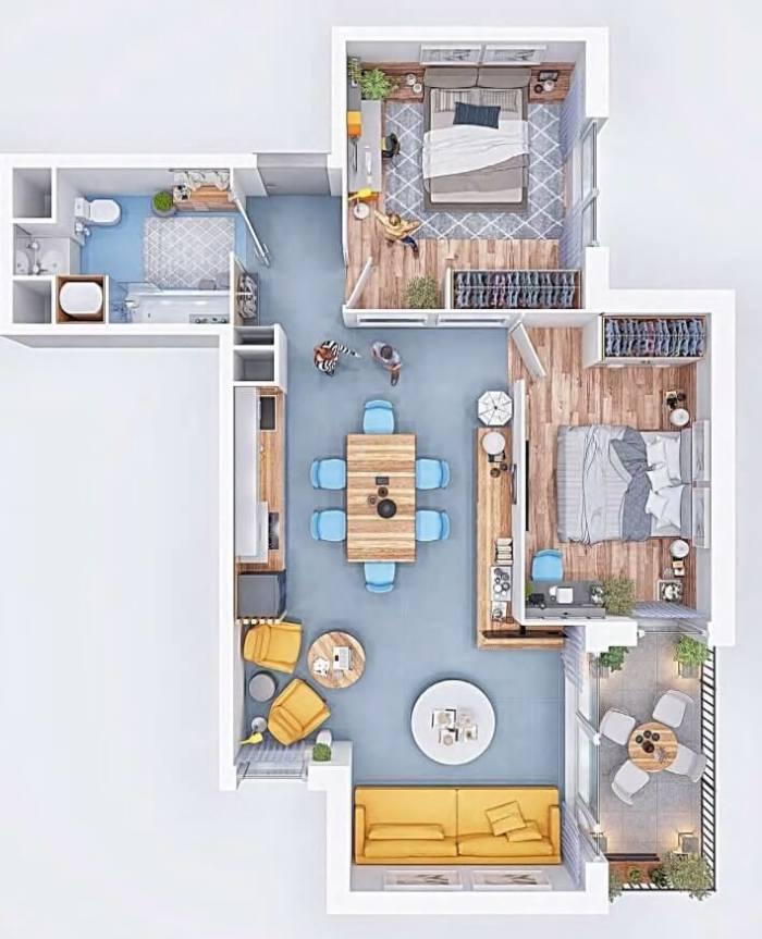 Appartements neufs Saint-Simon référence 4054 : aperçu n°4