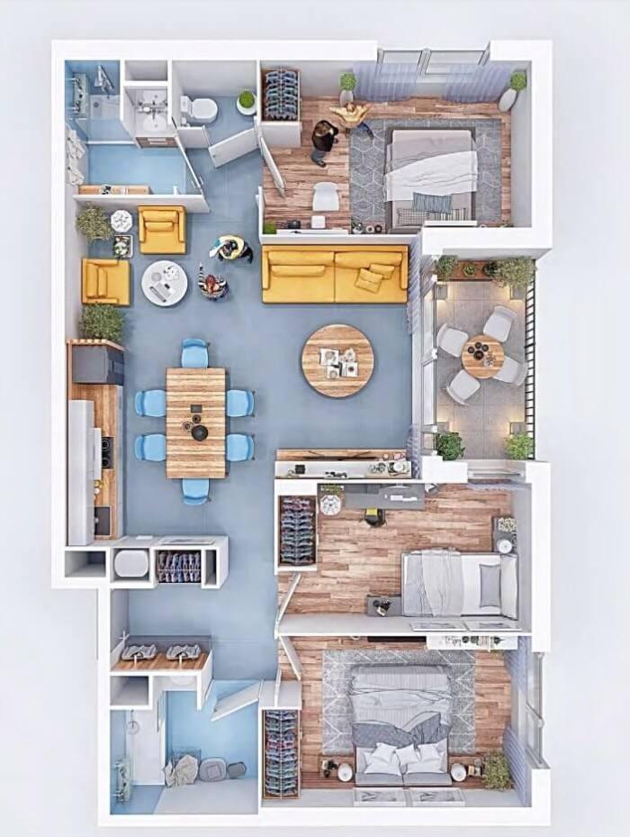 Appartements neufs Saint-Simon référence 4054 : aperçu n°5