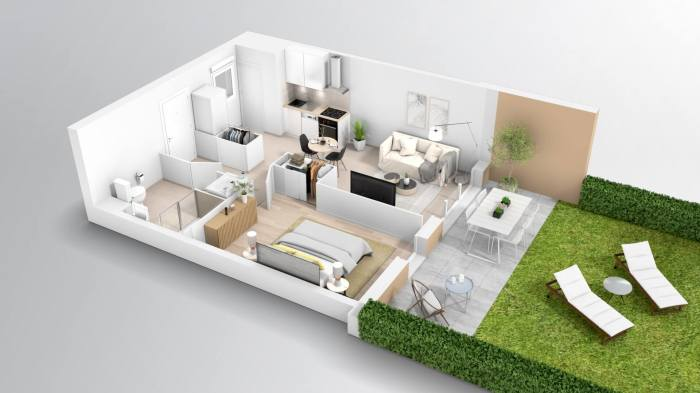 Appartements neufs Croix-Daurade référence 4060 : aperçu n°2