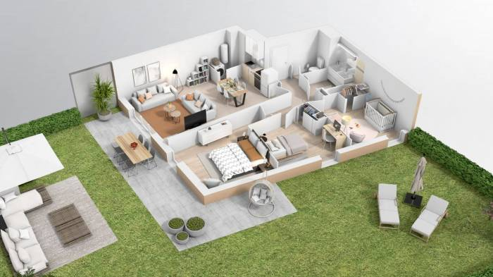 Appartements neufs Croix-Daurade référence 4060 : aperçu n°4