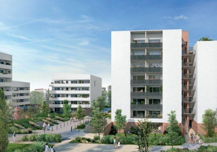Appartements neufs Montaudran référence 4114 : aperçu n°2