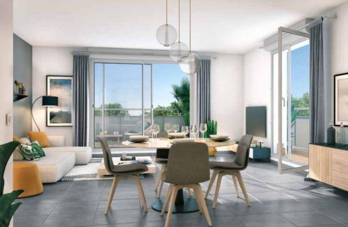 Appartements neufs Blagnac référence 4119 : aperçu n°1