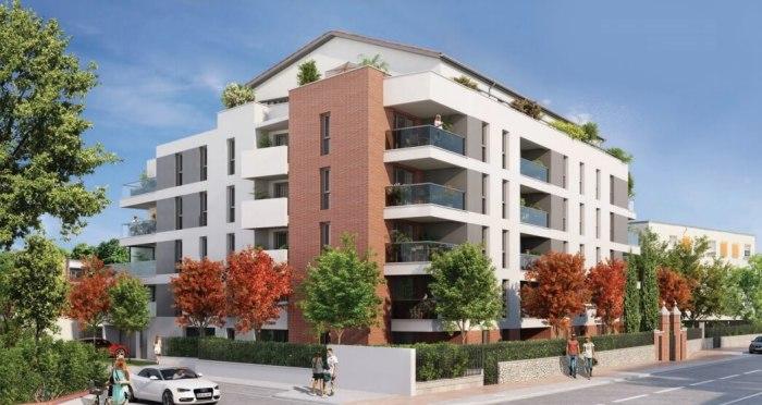 Appartements neufs Lalande référence 4129 : aperçu n°2