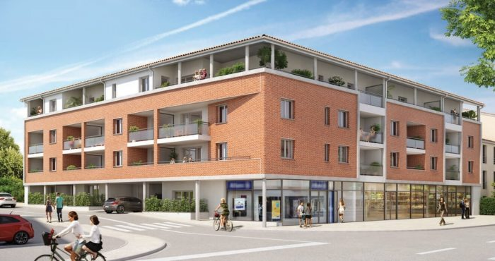 Appartements neufs Castanet-Tolosan référence 4133 : aperçu n°0