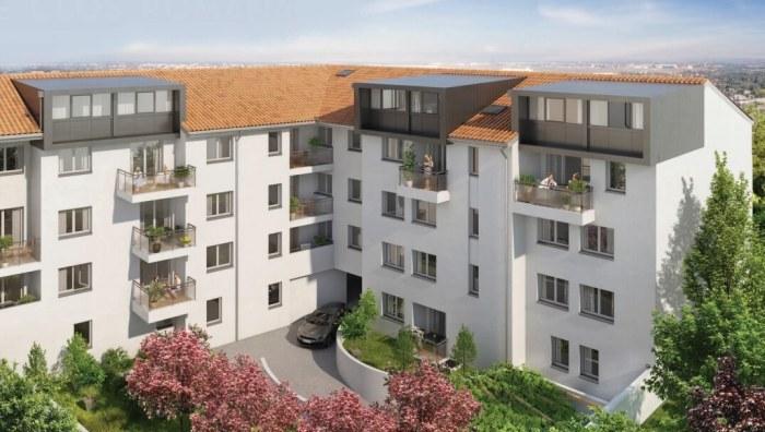 Appartements neufs Castanet-Tolosan référence 4133 : aperçu n°2