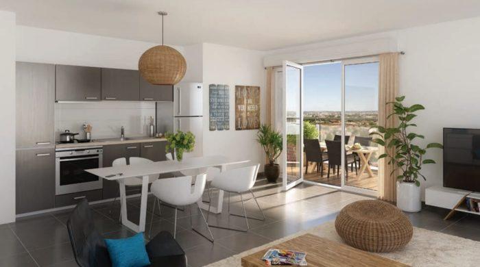 Appartements neufs Castanet-Tolosan référence 4133 : aperçu n°1