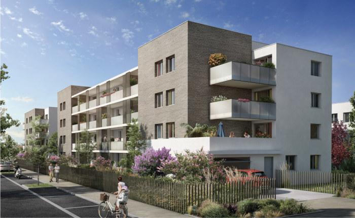 Appartements neufs Colomiers référence 4153 : aperçu n°0