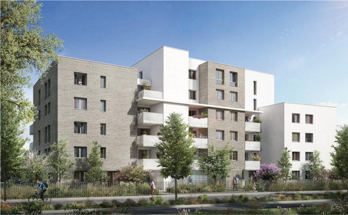 Appartements neufs Colomiers référence 4153 : aperçu n°3