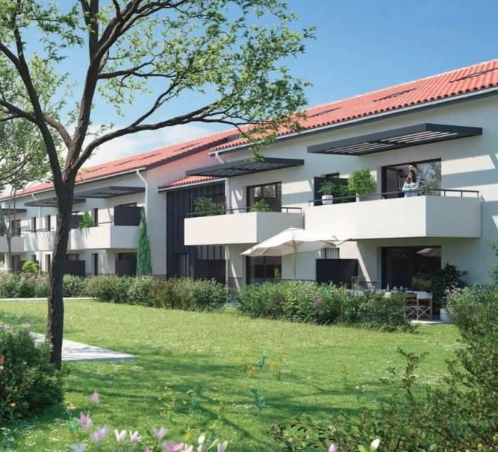 Appartements neufs Launaguet référence 3878 : aperçu n°4