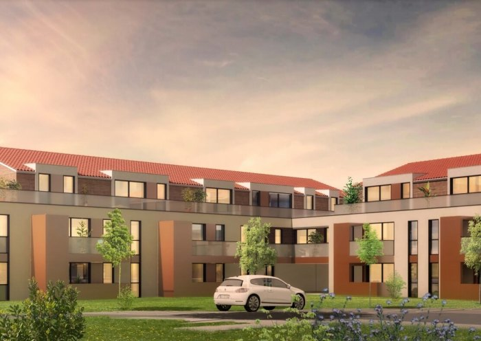 Appartements neufs Pechbonnieu référence 4174 : aperçu n°0