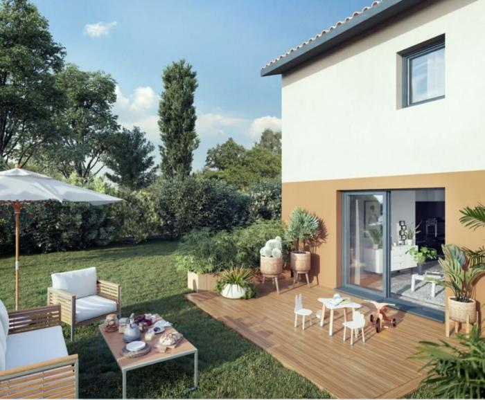 Maisons neuves Saint-Jory référence 4178 : aperçu n°0
