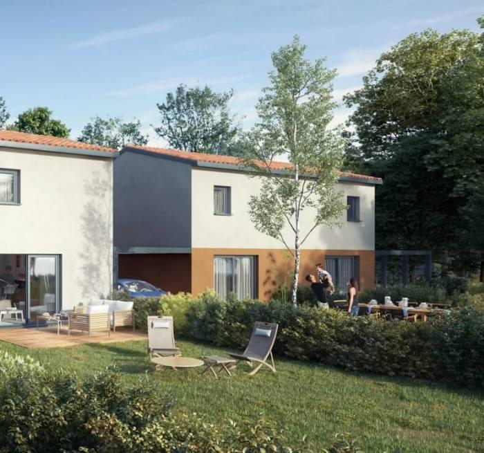 Maisons neuves Saint-Jory référence 4178 : aperçu n°2