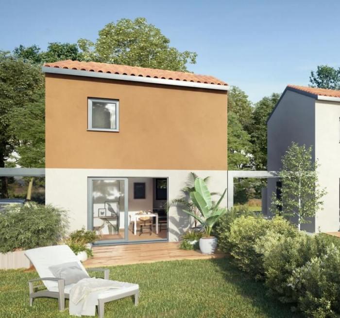 Maisons neuves Saint-Jory référence 4178 : aperçu n°3