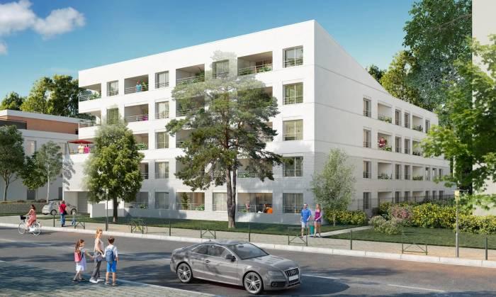 Appartements neufs Croix-Daurade référence 4189 : aperçu n°3