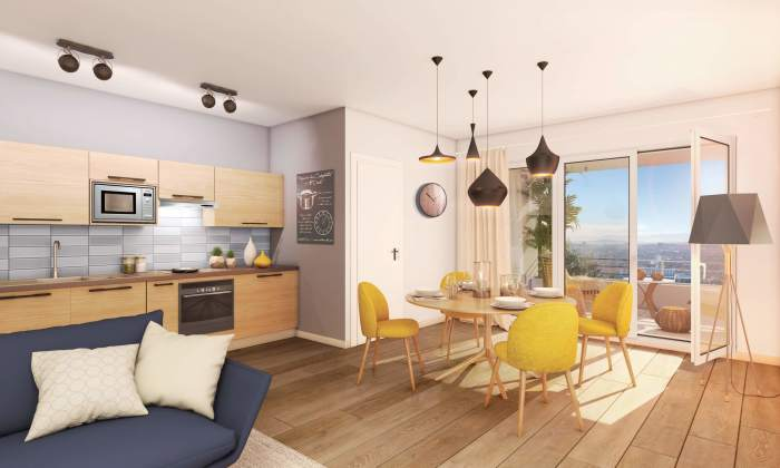Appartements neufs Croix-Daurade référence 4189 : aperçu n°1