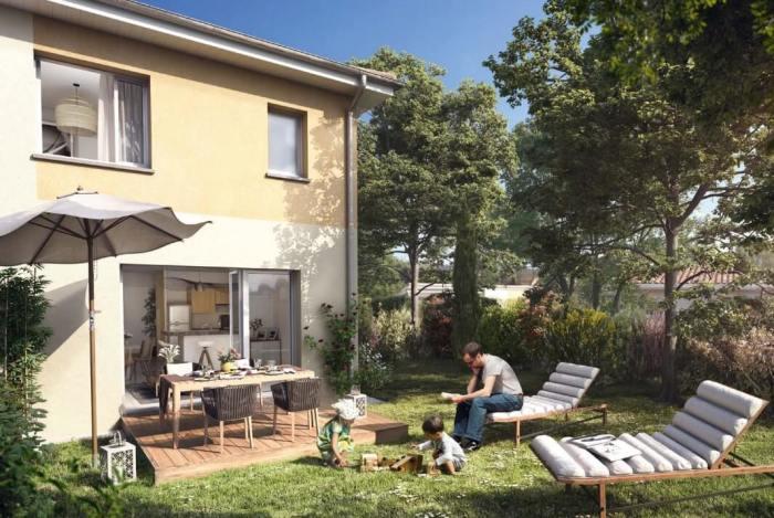 Maisons neuves Saint-Orens-de-Gameville référence 4282 : aperçu n°0