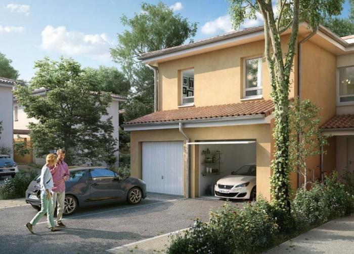 Maisons neuves Saint-Orens-de-Gameville référence 4282 : aperçu n°3