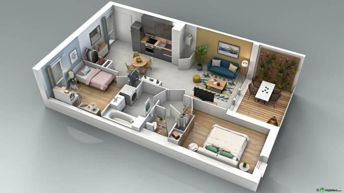 Appartements neufs Pibrac référence 4286 : aperçu n°2