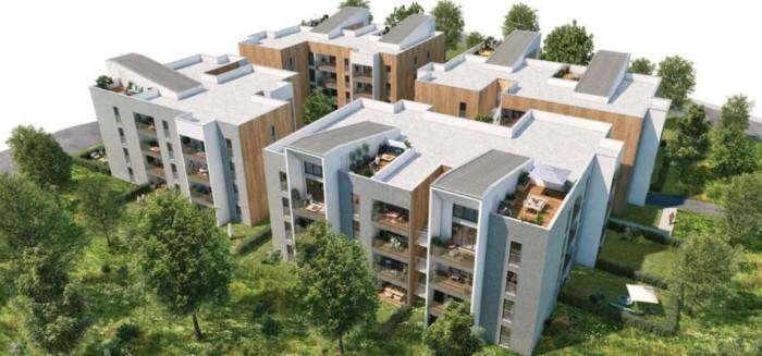Maisons neuves et appartements neufs Montaudran référence 4325 : aperçu n°2