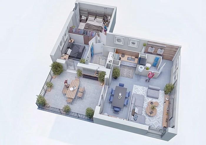 Appartements neufs Cugnaux référence 4327 : aperçu n°2