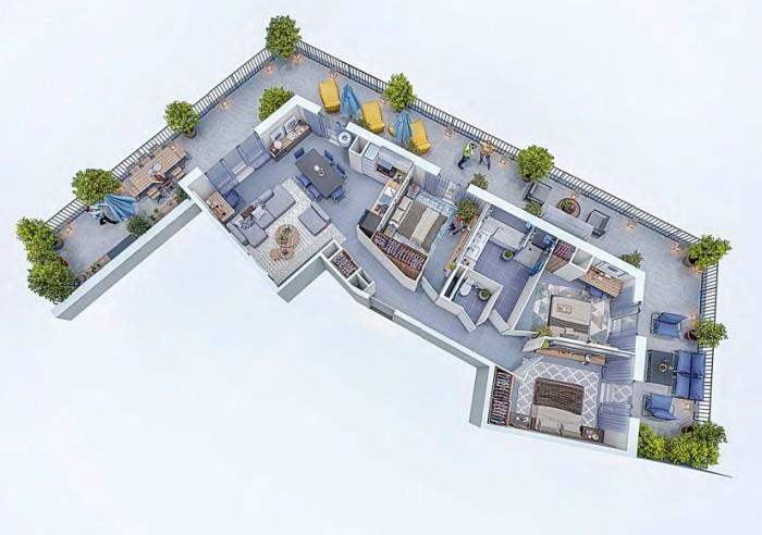 Appartements neufs Cugnaux référence 4327 : aperçu n°3