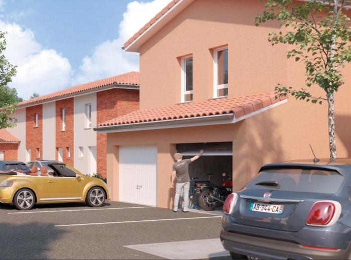 Maisons neuves Saint-Orens-de-Gameville référence 4336 : aperçu n°0