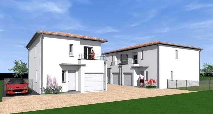 Maisons neuves Castelginest référence 4340 : aperçu n°0