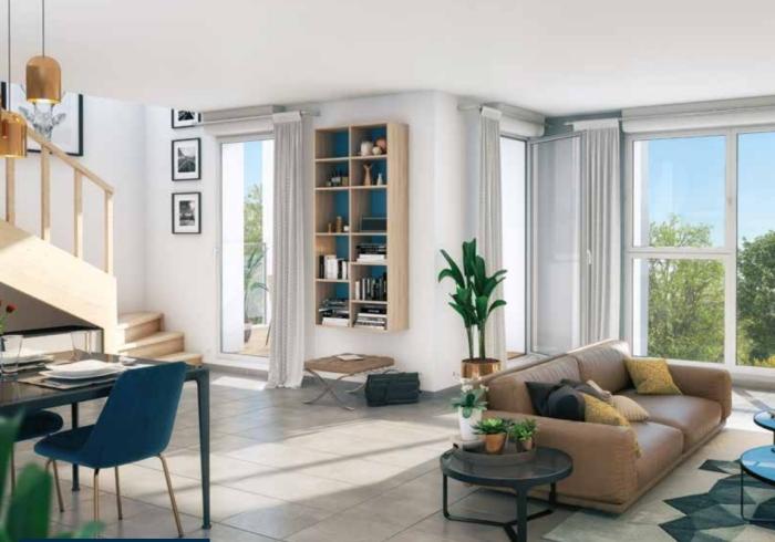 Appartements neufs Saint-Simon référence 4352 : aperçu n°1