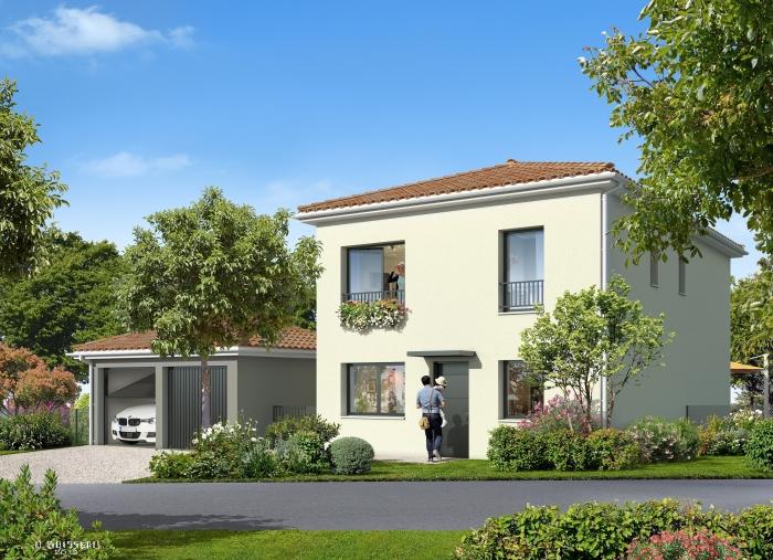 Maisons neuves et appartements neufs Castelmaurou référence 4354 : aperçu n°3