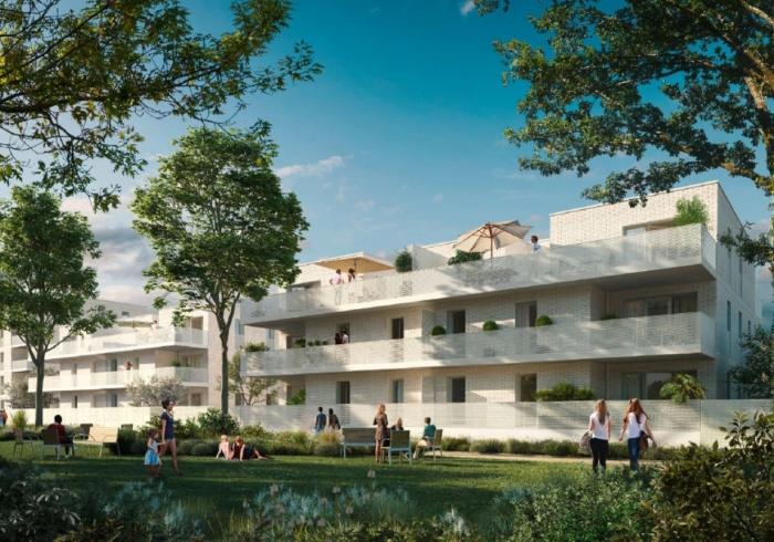 Appartements neufs Borderouge référence 4376 : aperçu n°0