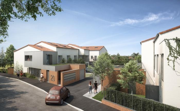 Maisons neuves et appartements neufs Borderouge référence 4396 : aperçu n°0