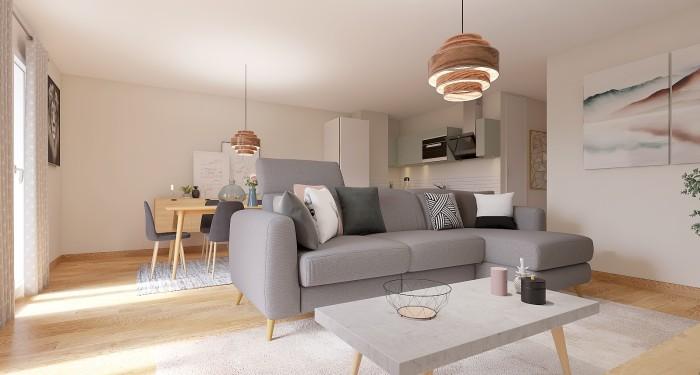Appartements neufs Compans Caffarelli référence 4398 : aperçu n°1