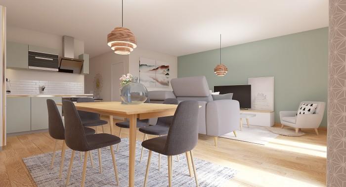 Appartements neufs Compans Caffarelli référence 4398 : aperçu n°2