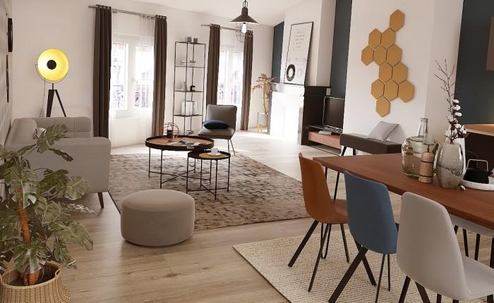 Appartements neufs Hyper-centre référence 4402 : aperçu n°1