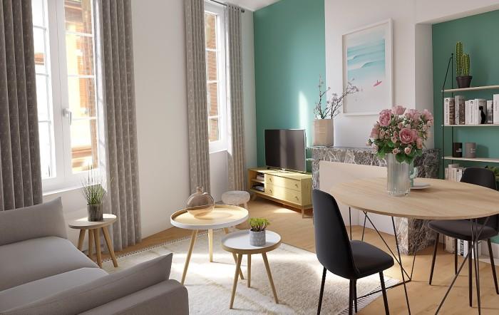 Appartements neufs Hyper-centre référence 4402 : aperçu n°2