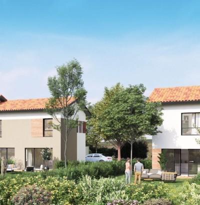 Maisons neuves Villeneuve-Tolosane référence 4406