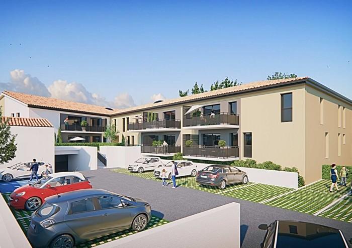 Appartements neufs Saint-Alban référence 4409 : aperçu n°2