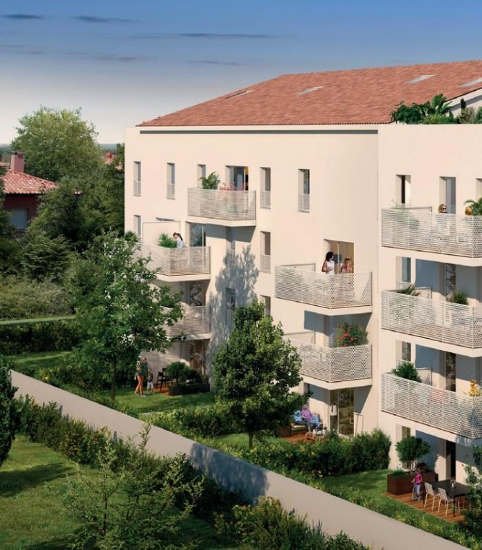 Appartements neufs Croix-Daurade référence 4411 : aperçu n°2
