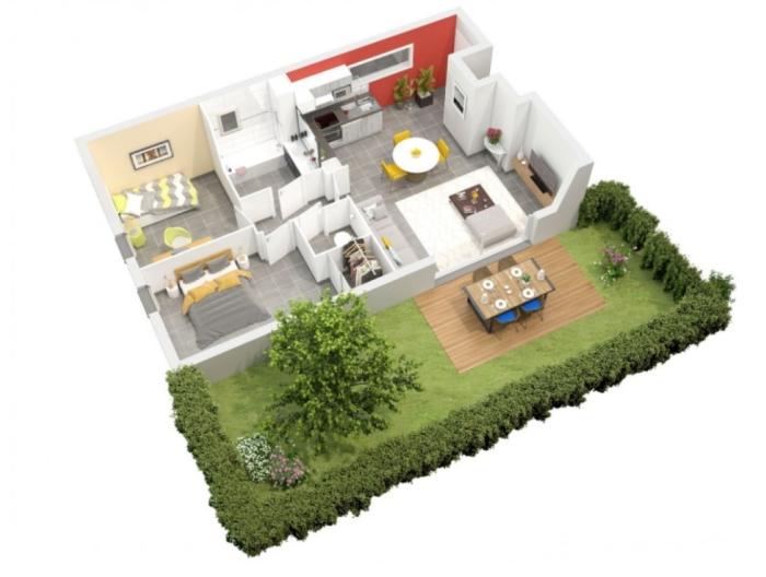 Appartements neufs Plaisance-du-Touch référence 4443 : aperçu n°1
