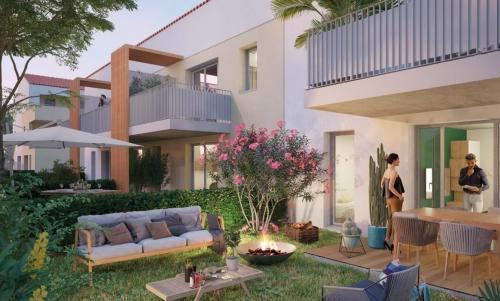 Appartements neufs Castelginest référence 4448