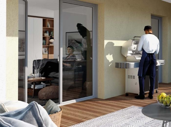 Appartements neufs Castelginest référence 4448 : aperçu n°1