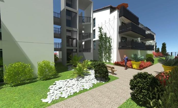 Appartements neufs Cugnaux référence 4455 : aperçu n°2