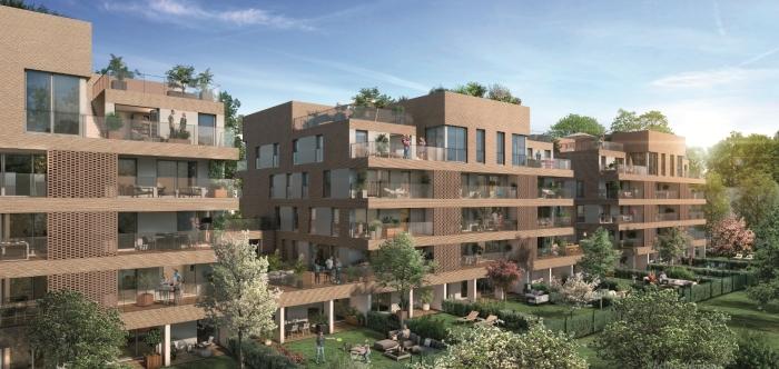 Appartements neufs Patte d'Oie référence 4466 : aperçu n°0
