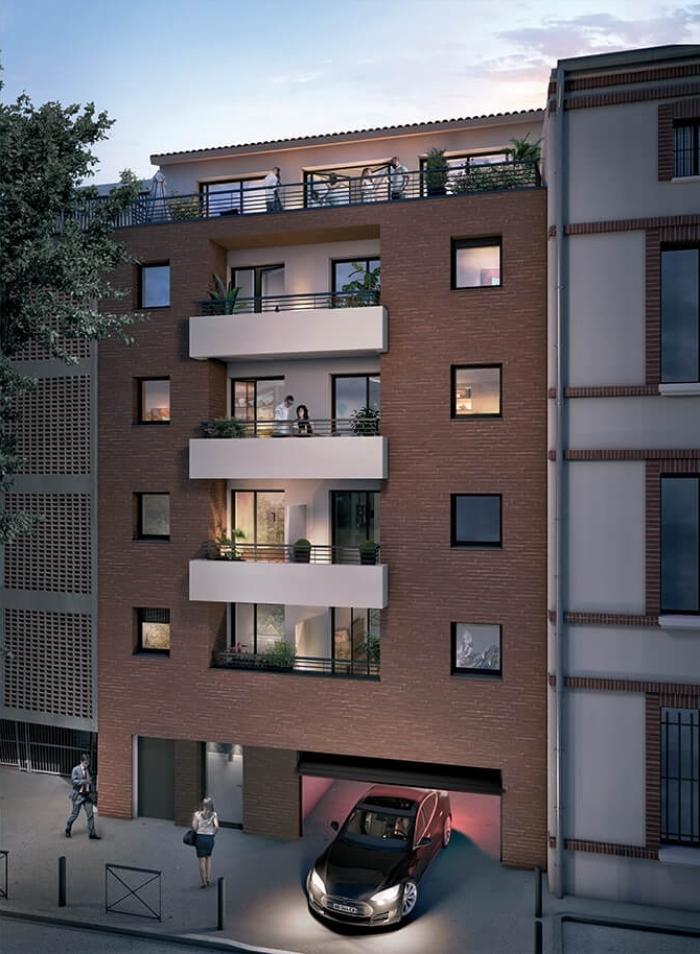 Appartements neufs Compans Caffarelli référence 4470 : aperçu n°0