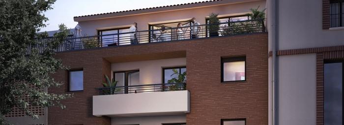 Appartements neufs Compans Caffarelli référence 4470 : aperçu n°2