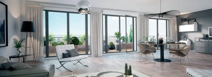 Appartements neufs Compans Caffarelli référence 4470 : aperçu n°1