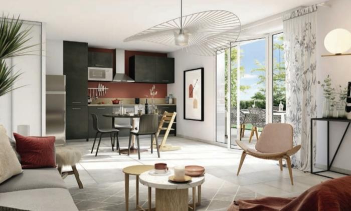 Appartements neufs Lardenne référence 4478 : aperçu n°1